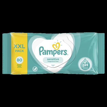 Slika Pampers® Otroški čistilni robčki Sensitive 80 kosov