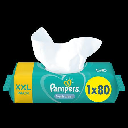 Pampers® Otroški čistilni robčki Fresh Clean 1x80 kosov