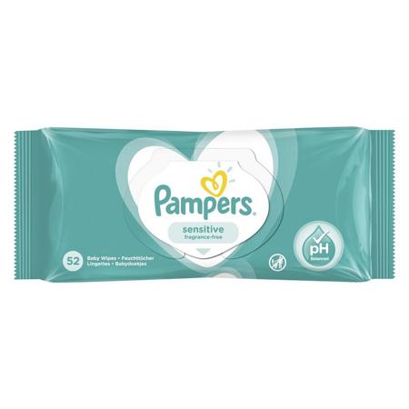 Slika Pampers® Otroški čistilni robčki Sensitive 52 kosov