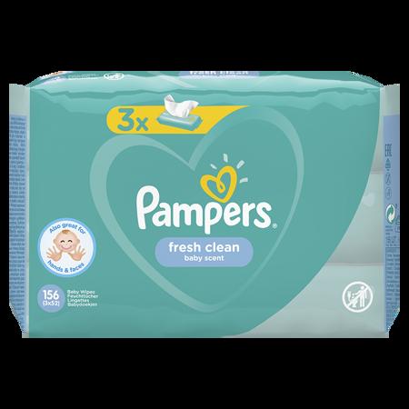 Slika Pampers® Otroški čistilni robčki Fresh Clean 3x52 kosov