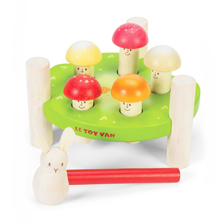 Immagine di Le Toy Van® Gioco con martello Mr. Mushroom