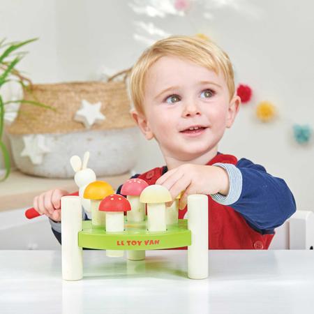 Le Toy Van® Igra s kladivom Mr. Mushroom