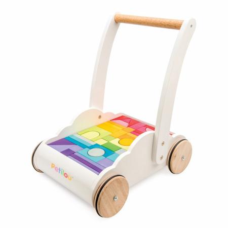 Slika Le Toy Van® Lesen voziček s kockami