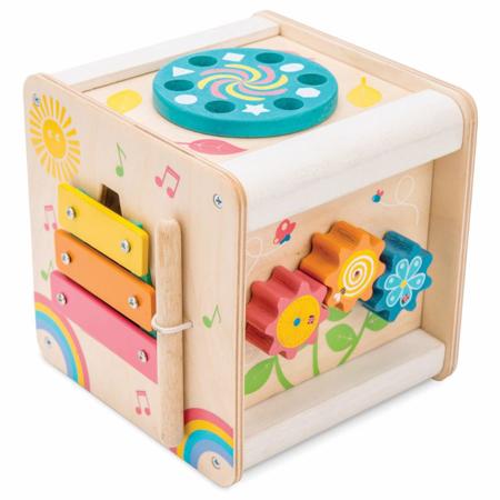 Le Toy Van® Lesena aktivnostna kocka