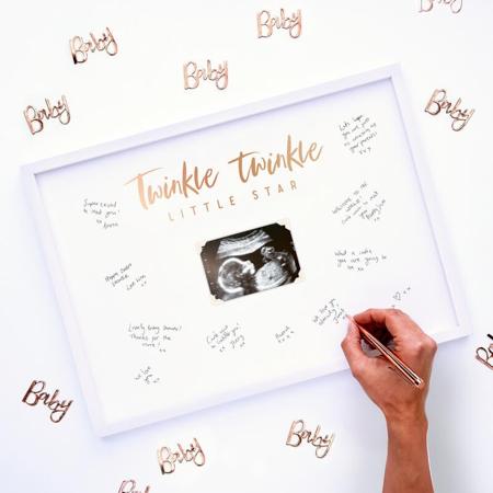 Immagine di Ginger Ray® Cornice per le firme Twinkle Twinkle