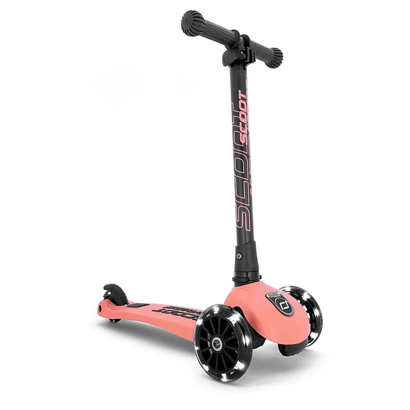 Scoot & Ride® Otroški skiro Highwaykick 3 Peach LED