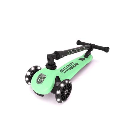 Scoot & Ride® Otroški skiro Highwaykick 3 Kiwi LED