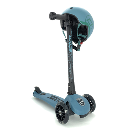 Scoot & Ride® Otroški skiro Highwaykick 3 Steel LED