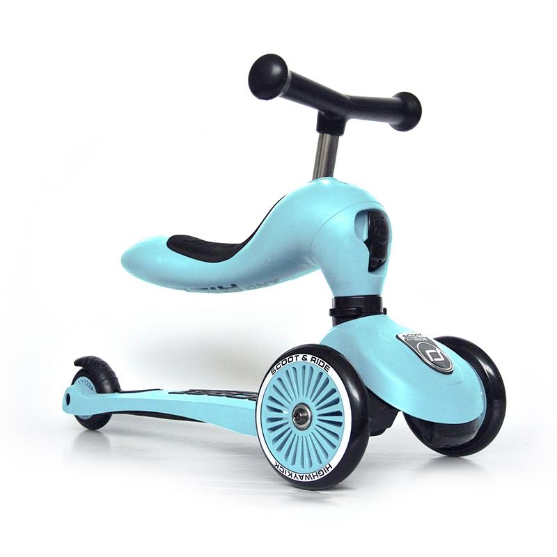 Scoot & Ride® Otroški poganjalec in skiro Highwaykick 1 Blueberry