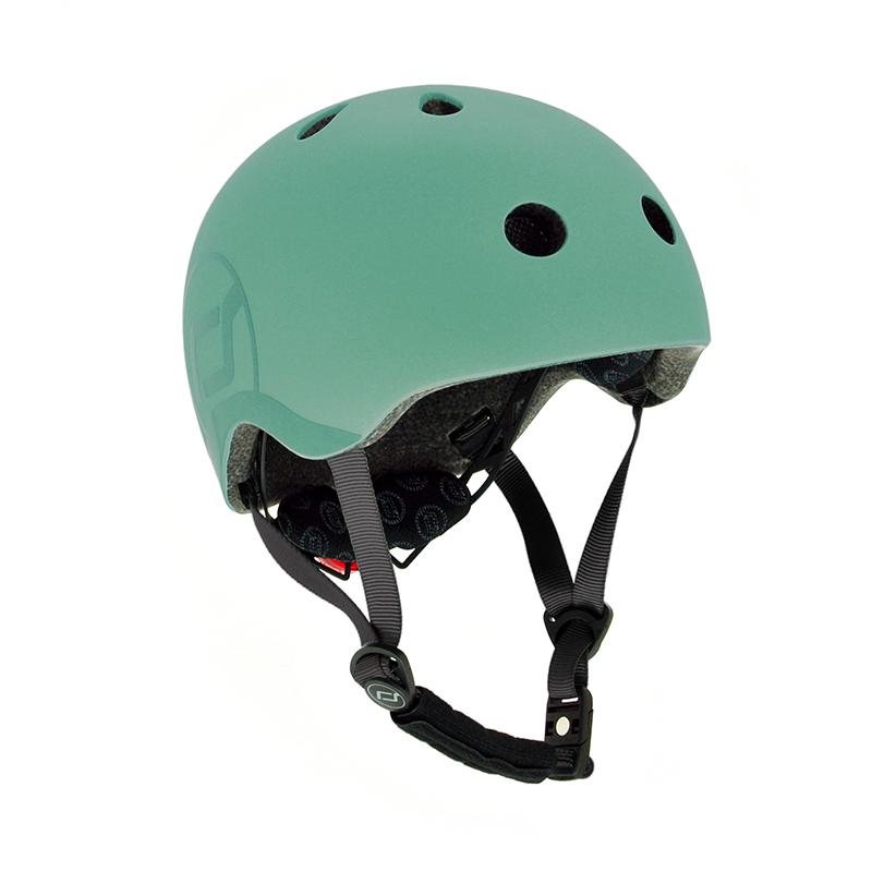 Scoot & Ride® Otroška čelada S-M (51-55cm) Forest