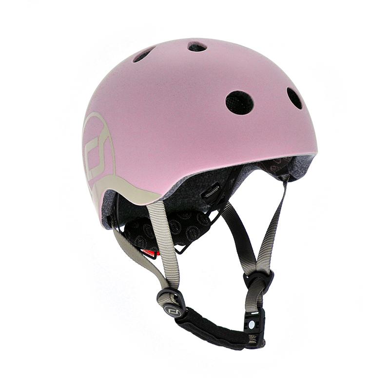 Scoot & Ride® Otroška čelada  XXS-S (45-51cm) Rose