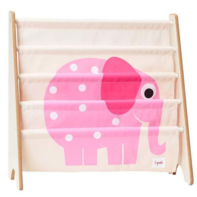 3Sprouts® Knjižno stojalo Slon Pink