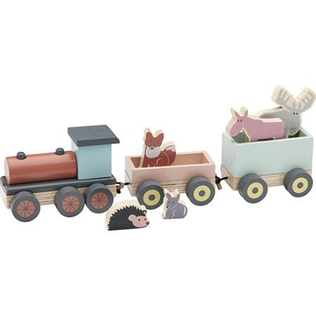 Immagine di Kids Concept® Trenino in legno Edvin