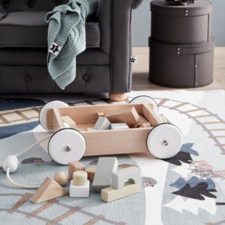 Kids Concept® Vagon s kockami