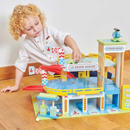 Le Toy Van® Garažna hiša Le Grand