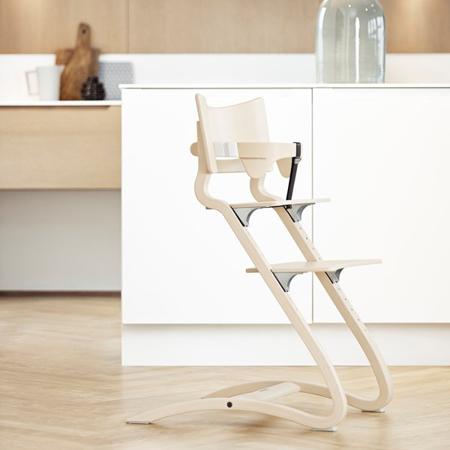 Slika Leander® Otroški stol za hranjenje Whitewash