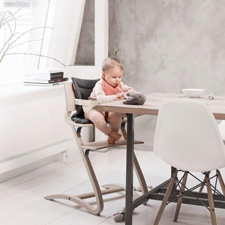 Leander® Otroški stol za hranjenje Natural