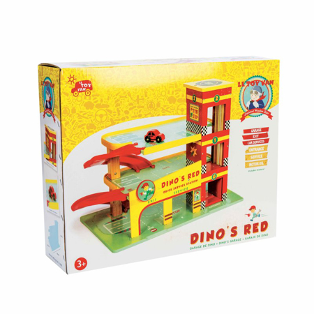 Le Toy Van® Garažna hiša Dino