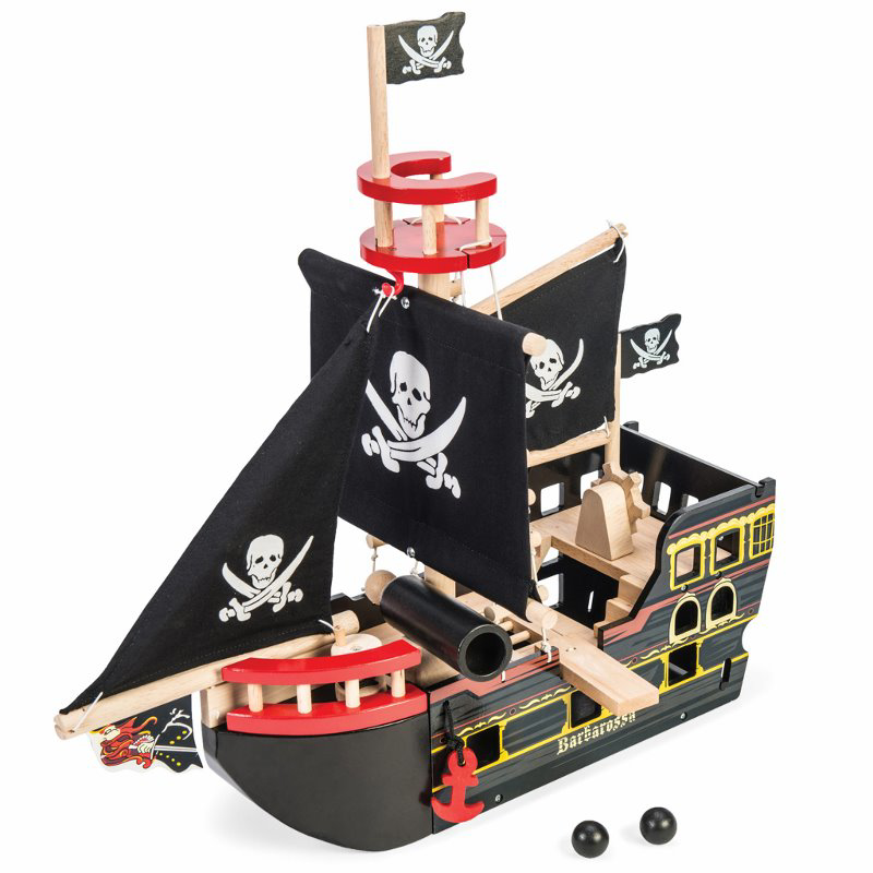 Le Toy Van® Gusarska ladja Barbarossa