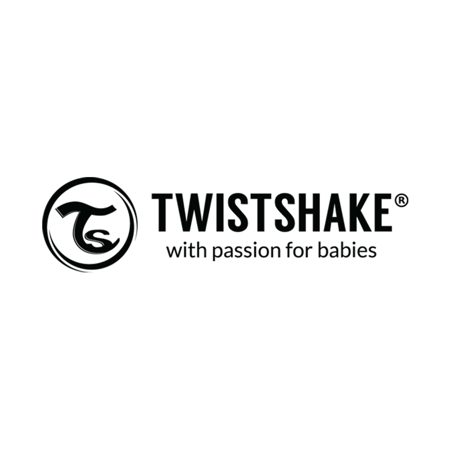 Twistshake® Steklena steklenička Anti-Colic 180ml Pastel Pink