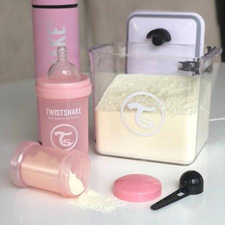 Twistshake® Posoda za shranjevanje 1700ml Pastel Pink