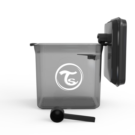 Twistshake® Posoda za shranjevanje 1700ml Black