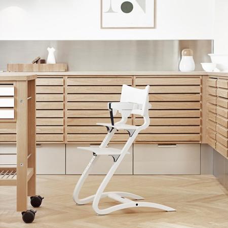 Slika Leander® Otroški stol z dodatki - Bela