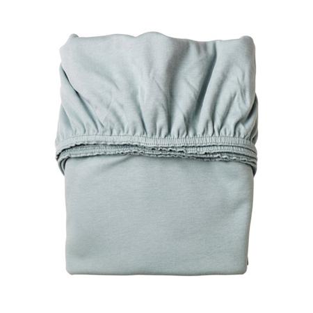 Slika Leander® Otroška jogi rjuha za zibelko 2 kosa 79x49 White/Blue