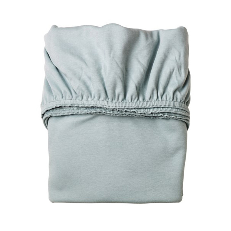 Leander® Otroška jogi rjuha za posteljico Blue Baby 2 kosa 120x60