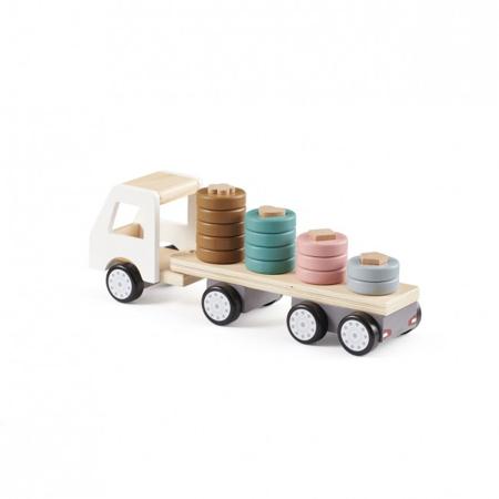Slika Kids Concept® Lesen tovornjak s prikolico Aiden