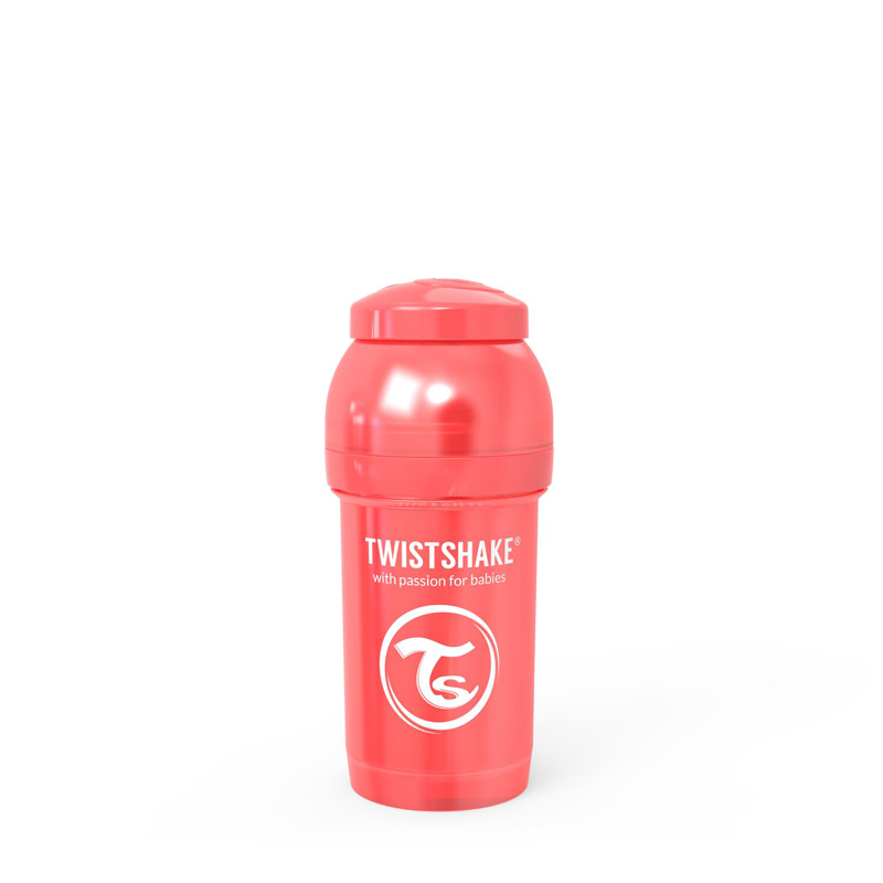 Twistshake® Steklenička Anti-Colic 180ml (0+m) Pearl Red