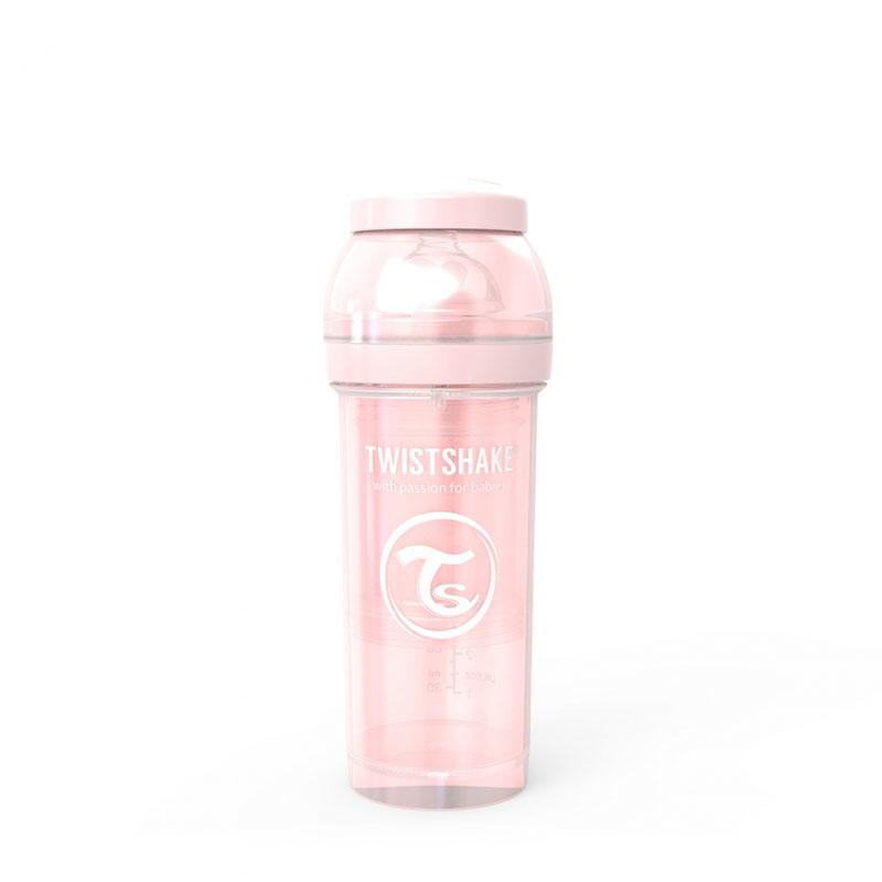 Twistshake® Steklenička Anti-Colic 260ml (2+m) Pearl Pink