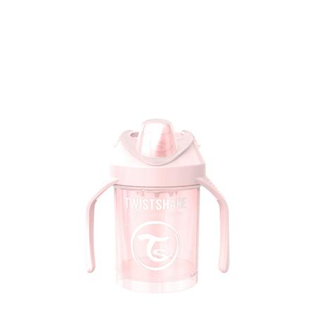 Slika Twistshake® Lonček Mini Cup 230ml (4+m) Pearl Pink