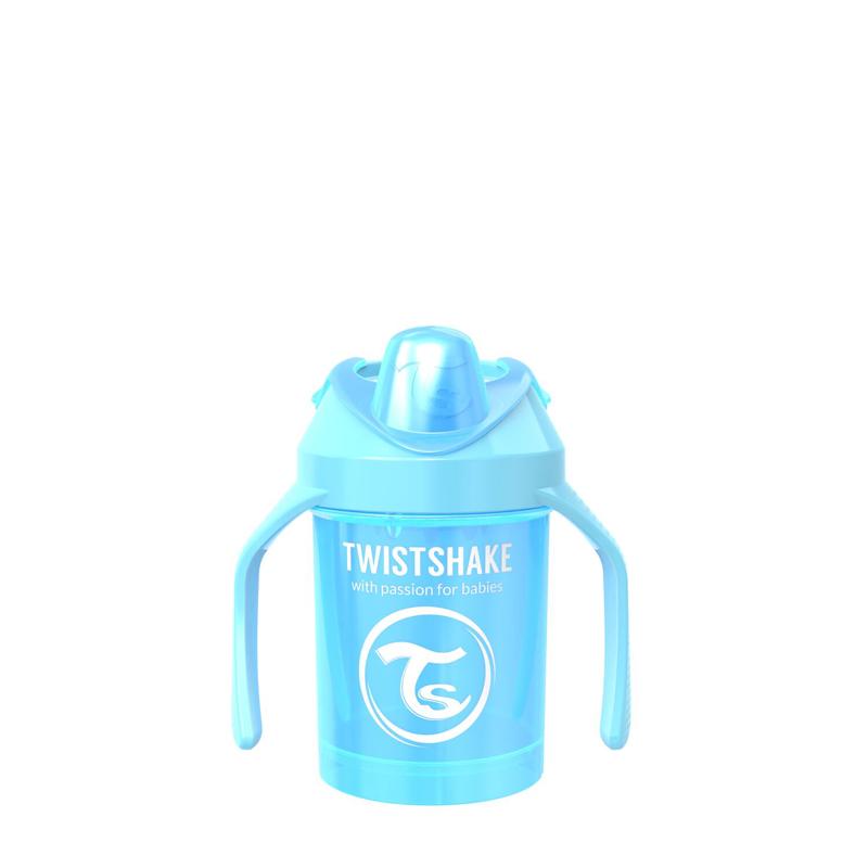 Twistshake® Lonček Mini Cup 230ml (4+m) Pearl Blue