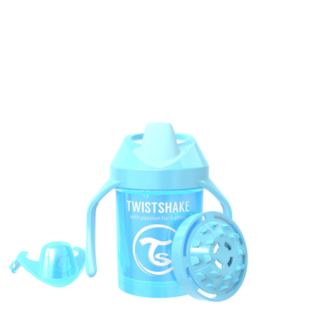 Slika Twistshake® Lonček Mini Cup 230ml (4+m) Pearl Blue