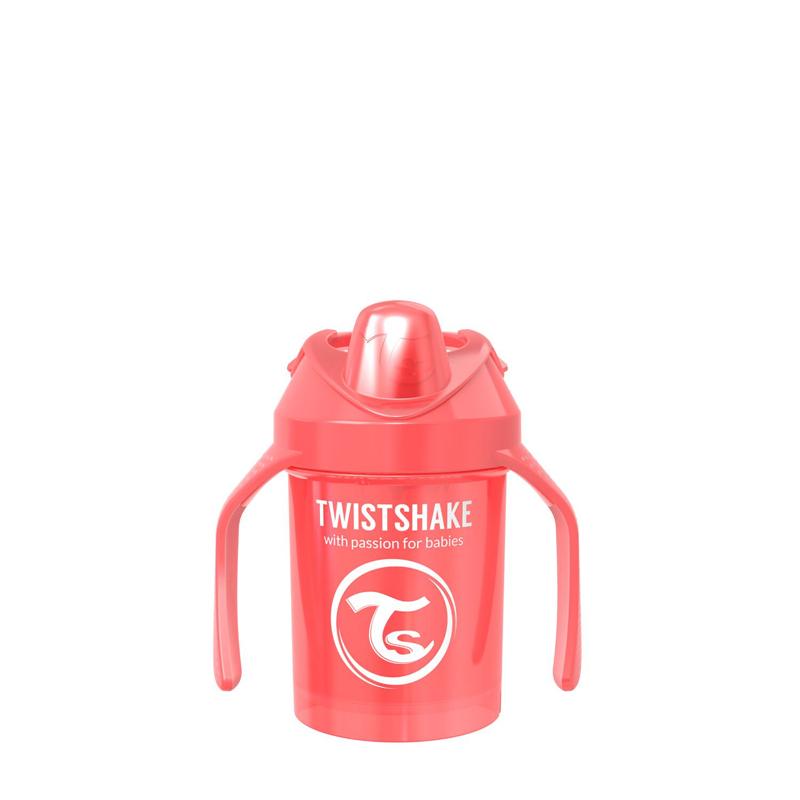 Twistshake® Lonček Mini Cup 230ml (4+m) Pearl Red
