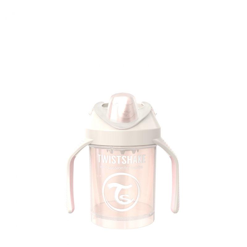 Twistshake® Lonček Mini Cup 230ml (4+m) Pearl Champagne