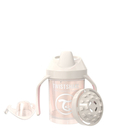 Slika Twistshake® Lonček Mini Cup 230ml (4+m) Pearl Champagne