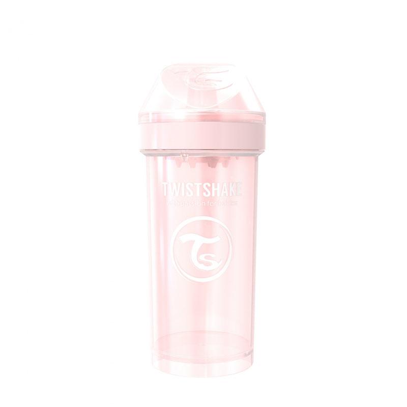 Twistshake® Lonček Kid Cup 360ml (12+m) Pearl Pink