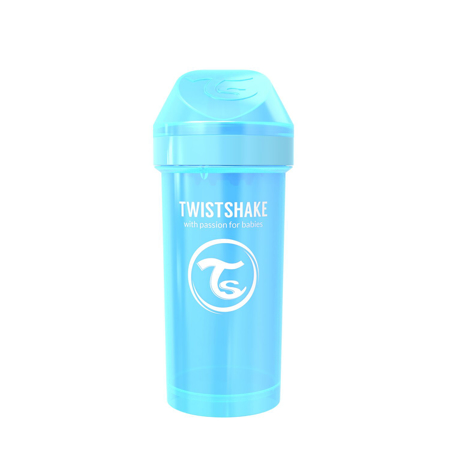 Slika Twistshake® Lonček Kid Cup 360ml (12+m) Pearl Blue