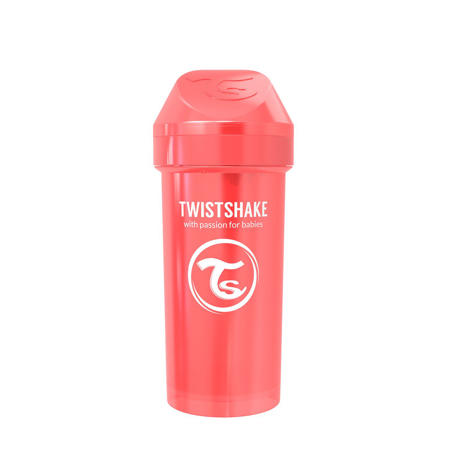 Twistshake® Lonček Kid Cup 360ml (12+m) Pearl Red