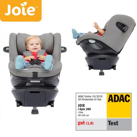 Slika Joie® Otroški avtosedež i-Spin 360™ i-Size 0+/1 (0-18 kg) Grey Flannel