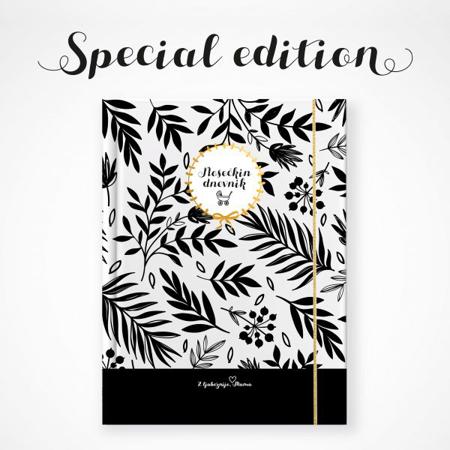 Slika Z ljubeznijo, Mama® Nosečkin dnevnik Črn Limited edition