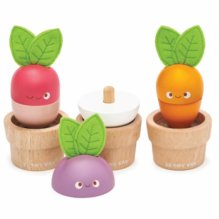 Slika Le Toy Van® Zelenjava na vrtu