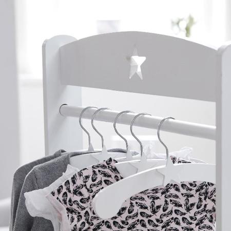 Slika Kids Concept® Stojalo za oblačila Star Grey