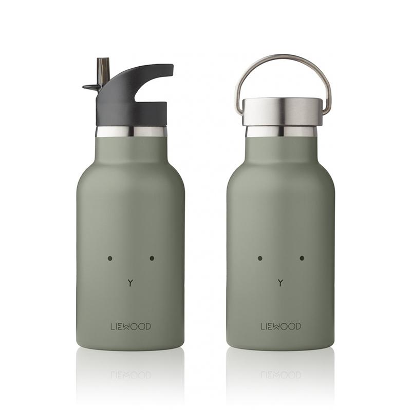 Liewood® Steklenička iz nerjavečega jekla Rabbit Faune Green