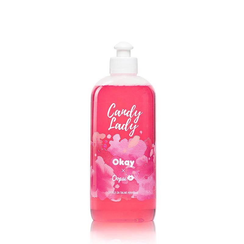 Okay® X Oopsi čistilo za talne površine Candy Lady