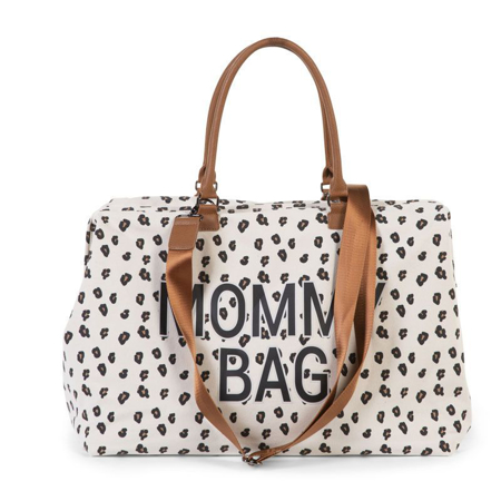 Slika Childhome® Previjalna torba Mommy Bag Big Canvas Leopard
