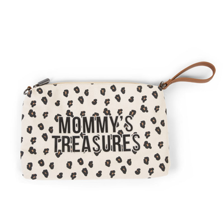 Slika Childhome® Torbica Mommys Treasures Canvas Leopard