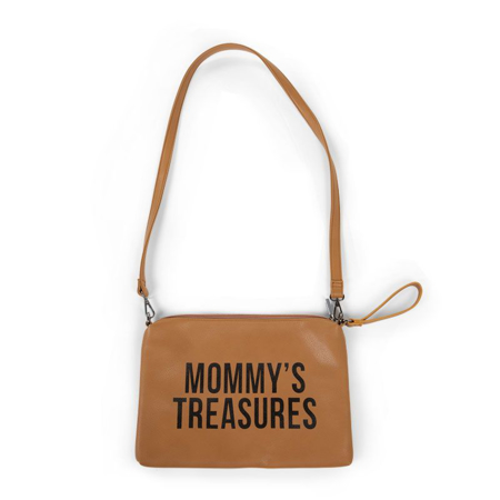 Childhome® Torbica Mommys Treasures Leatherlook Brown